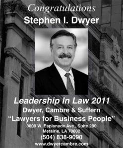 Steve - 2011 Leadership in law